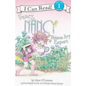 Fancy Nancy: Poison Ivy Expert Book and CD 漂亮的南希:毒藤专家(书+CD)(I Can Read,Level 1)ISBN 9780061882746