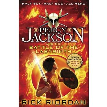 Percy Jackson and the Battle of the Labyrinth 波西・杰克逊与迷宫之战 ISBN 9780141346830