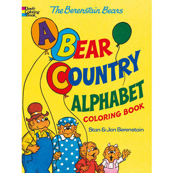 Berenstain Bears -- A Bear Country Alphabet Coloring Book