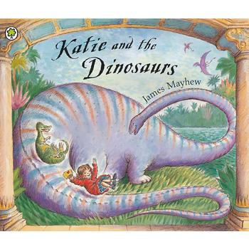 Katie: Katie and the Dinosaurs 凯蒂和恐龙(凯蒂的名画奇遇同一作者) ISBN 9781843623960